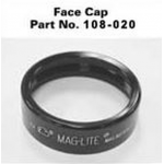 MagCharger Rechargeable Flashlight Facecap, Lens & Lens Seal Assembly