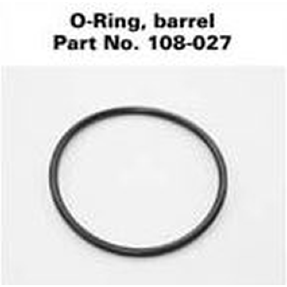 MAGLITE D CELL Genuine 4x O Ring Barrell Caoutchouc Set