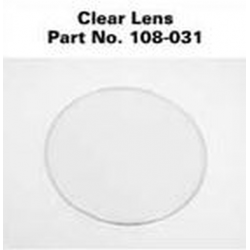Maglite C & D Cell Clear Plastic Lens 108-000-031, 108-031