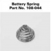AA Mini Maglite Battery Spring 108-044