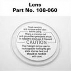 Maglite Rechargeable Flashlight Replacement Glass Lens 108-000-060