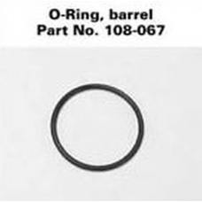 Solitaire Barrel & Facecap O-Ring (seal), 108-000-067, 108-067