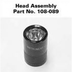 Mag Solitaire Facecap Assembly-Lens, Seal, Reflector 108-089