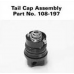 Maglite 2AAA MiniMag Tailcap Assembly 108-000-197, 108-197, Black