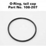Rechargeable Maglite Tailcap O-Ring, 108-000-207, 108-207