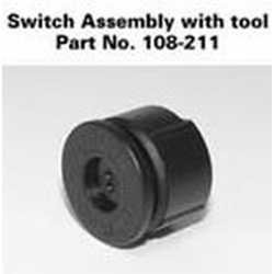 AA Mini Maglite Switch w/tool, 108-211
