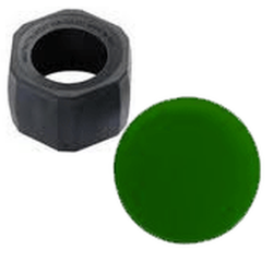 Maglite 2AA MiniMag Night Vision Green Lens With Holder, 108-614