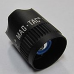 Maglite Rechargeable Mag-Tac Head/Reflector Assembly, Crowned Bezel, Black