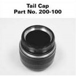 Maglite C Cell Tailcap (200-100) w/C AND no C