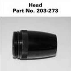 AA Mini Maglite Head, Black 203-000-273, 203-273