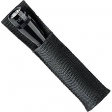 Maglite 2AA LED Mini Mag Original Open Top Holster, 208-081, Black
