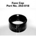 2 AA LED Mini Maglite Replacement Face Cap, Black 253-018, 253-000-018