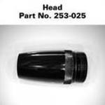 LED AA Mini Maglite Replacement Head, Black 253-000-025, 253-025
