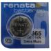 Renata 365/366 SR1116W Silver Oxide Coin Cell Battery, 365MP