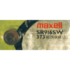 373 Maxell 1.5v Silver Oxide Watch Battery, SR916SW