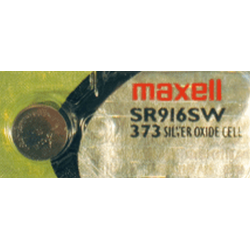 373 Maxell 1.5v Silver Oxide Watch Battery, SR916SW, 373