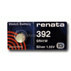 Renata 392 Watch Battery, silver oxide (384, 392, GS3, G3, LR41), 392-MP