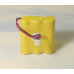 Ultralast GE 2-6930 3.6V 600mAh NiCad Cordless Phone Battery, 3AA-A