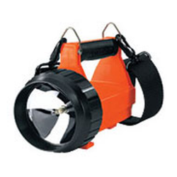 Fire Vulcan Rechargeable System AC/DC 8W Halogen Orange Body w/ Rear LED 44400