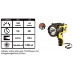 Streamlight Waypoint Pistol Grip C4 LED Spotlight, 44900 Yellow