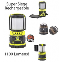 Streamlight Super Siege Rechargeable LED Lantern with USB Charging Port, 44945, Yellow