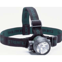 Streamlight Trident Headlamp w/ One Green & Two White LEDs 61051