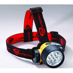 Streamlight Septor Multiple LED 3AAA Headlamp, Yellow Body 61052