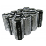 Streamlight CR123A Lithium 3v Battery, 12 Pack, 85179-12