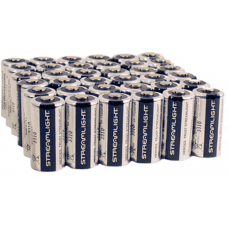 Streamlight CR123A Lithium 3v Battery, 36 pack, 85179-36