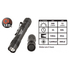 Streamlight ProTac 2L LED Lithium Flashlight, Black 2CR123A, 88031