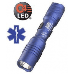 Streamlight ProTac EMS Medical Services 1AA LED Flashlight, Blue, 88034