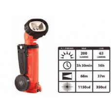 Streamlight Knucklehead LED AA Alkaline Flashlight 4AA, Orange, 90644