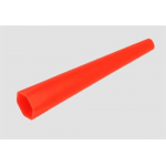 Traffic/Safety Wand for Maglite Mag Tac Flashlights, AGXX03B, Red