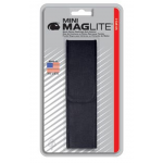 Nylon Full Flap Belt Holster for Maglite 2AA Mini Maglite, AM2A056, 108-448, Black