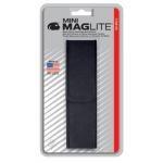 Maglite 2AA MiniMag Nylon Full Flap Belt Holster, AM2A056, Black