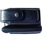 Maglite 2AA Flashlight/Knife Leather Holster, AM2A346, Black
