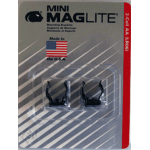 Mounting Brackets for Maglite AA Mini Maglite, 2/pack, AM2A496, 108-540