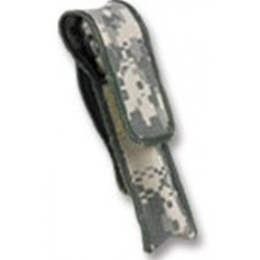 Mini Maglite 2-Cell AA  AM2A886 Camo Nylon Holster Hook /& Loop Flap Not for LED
