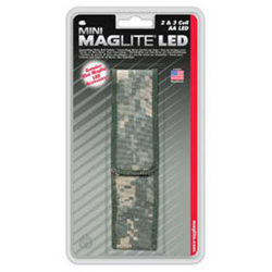 Nylon Full Flap Belt Holster for Maglite 2AA LED Mini Maglite,  AP2X106, 108-783, Camo