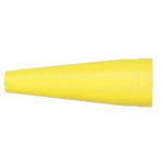 Traffic/Safety Wand for Maglite Halogen Rechargeable Flashlight, ARXX28B, Yellow