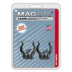 Mounting Brackets for Maglite C Cell Flashlights, 2/Pack, ASXCAT6, 108-534