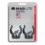 Mounting Brackets for Maglite D Cell Flashlights, 2/pack, ASXD026, 108-426