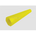 Traffic/Safety Wand for Maglite ML50, ML100, ML150 Series Flashlights, AX2410B, Yellow