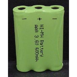 Ultralast GP55AAAH3BXZ 3.6V 600mAh NiMH Cordless Phone Battery, BATT-3850