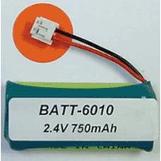 Ultralast VTech 6010 2.4V 750mAh NiMH Cordless phone battery, BATT-6010