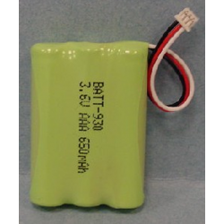 Ultralast Uniden BT-930 3.6V 750mAh NiMH Cordless Phone Battery, BATT-930