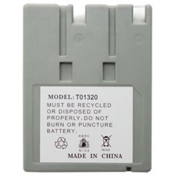 Ultralast Saft STB990 3.6V 600mAh NiCad Cordless Phone Battery, BATT-990