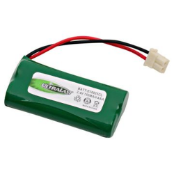 Ultralast 2.4V 750mAh NiMH Cordless phone battery, E200 E300 LH070-3A43C2BRML1P, BATT-E30025CL