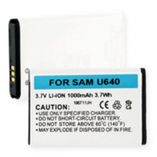 Samsung Convoy 3.7v 1230mAh Li-Ion Cell Phone Battery, BLI-1035-1