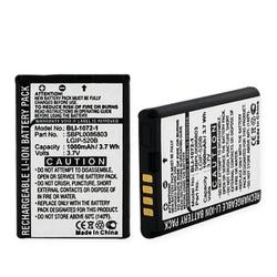 LG LGIP-520B 3.7v 1000mAh Cell Phone Battery, BLI-1072-1
